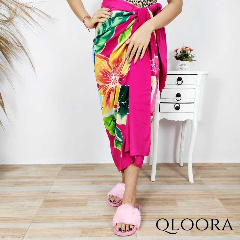 Kain Pantai Bali Premium Motif Bunga