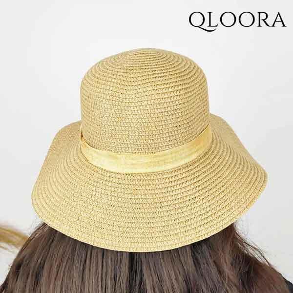 Topi Wanita Pantai Dengan Hiasan Pita