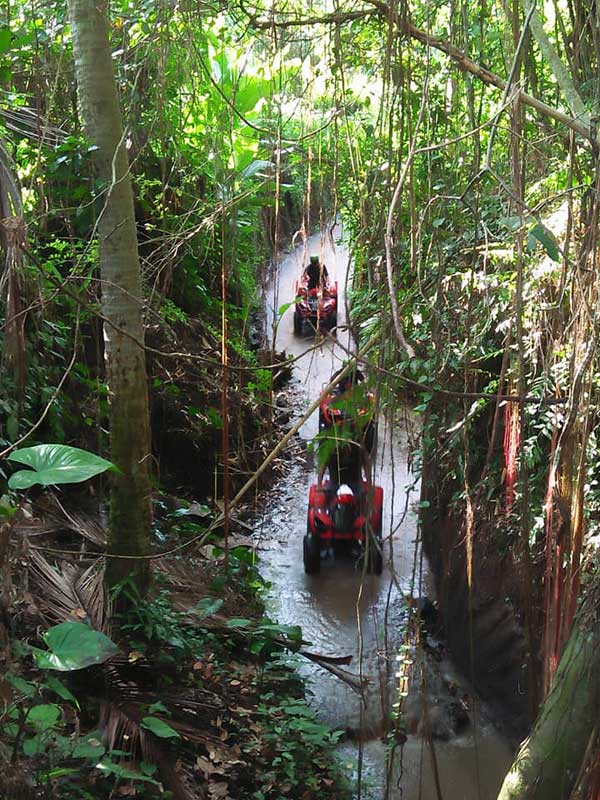 ATV Bali Trek Sungai