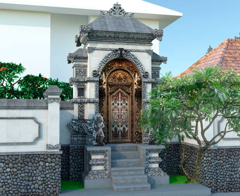 Model Angkul Angkul Bali
