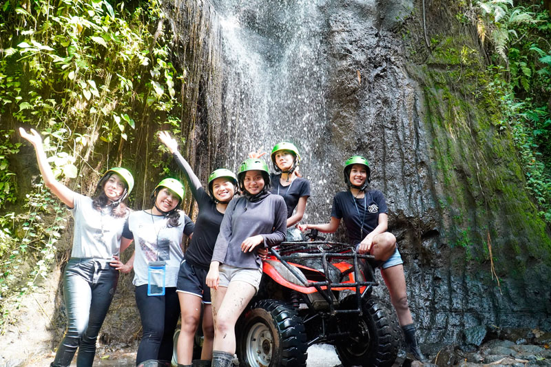 Permainan ATV di Bali