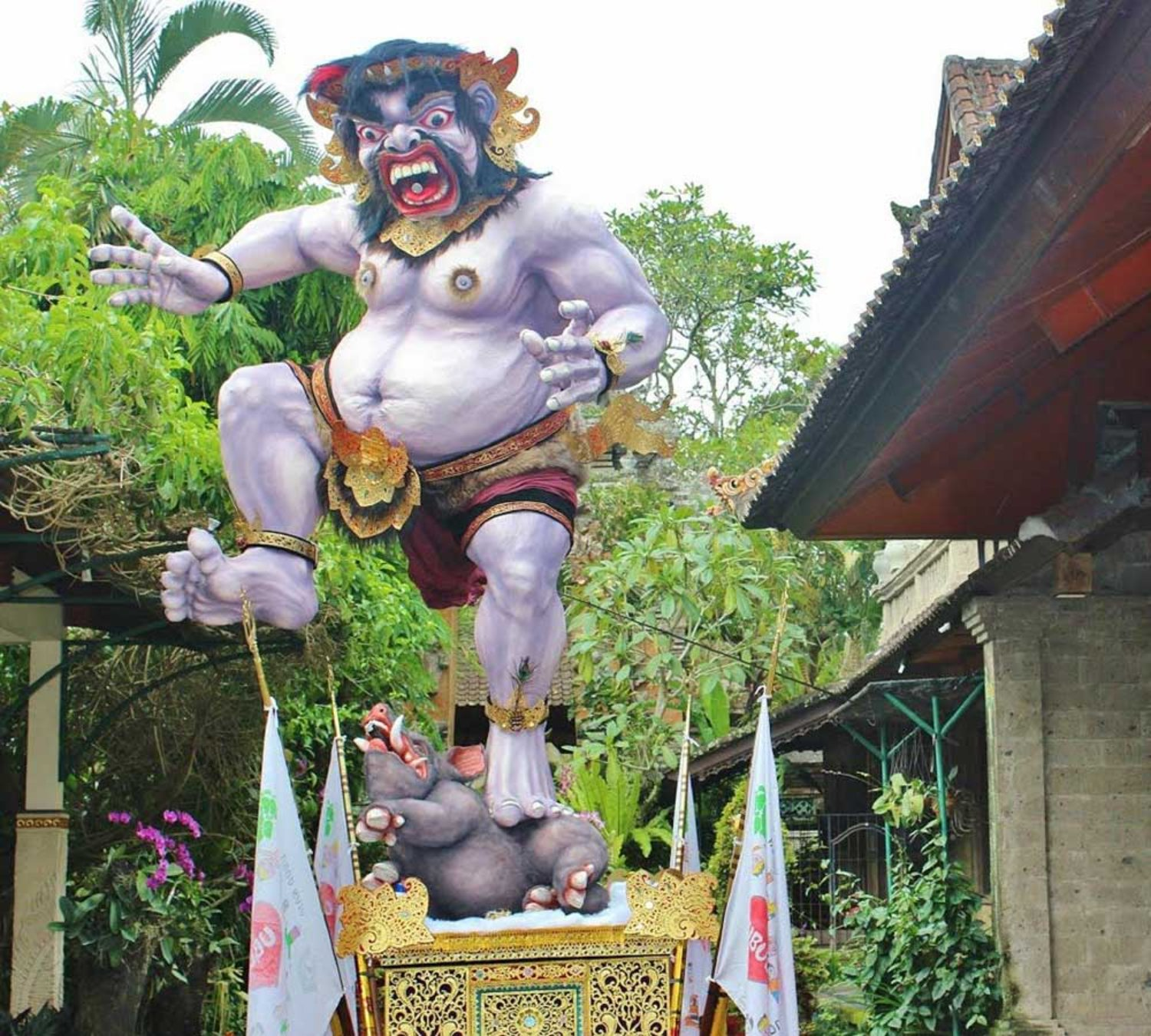 4 Interesting Facts about Bali Ogoh-Ogoh Attraction