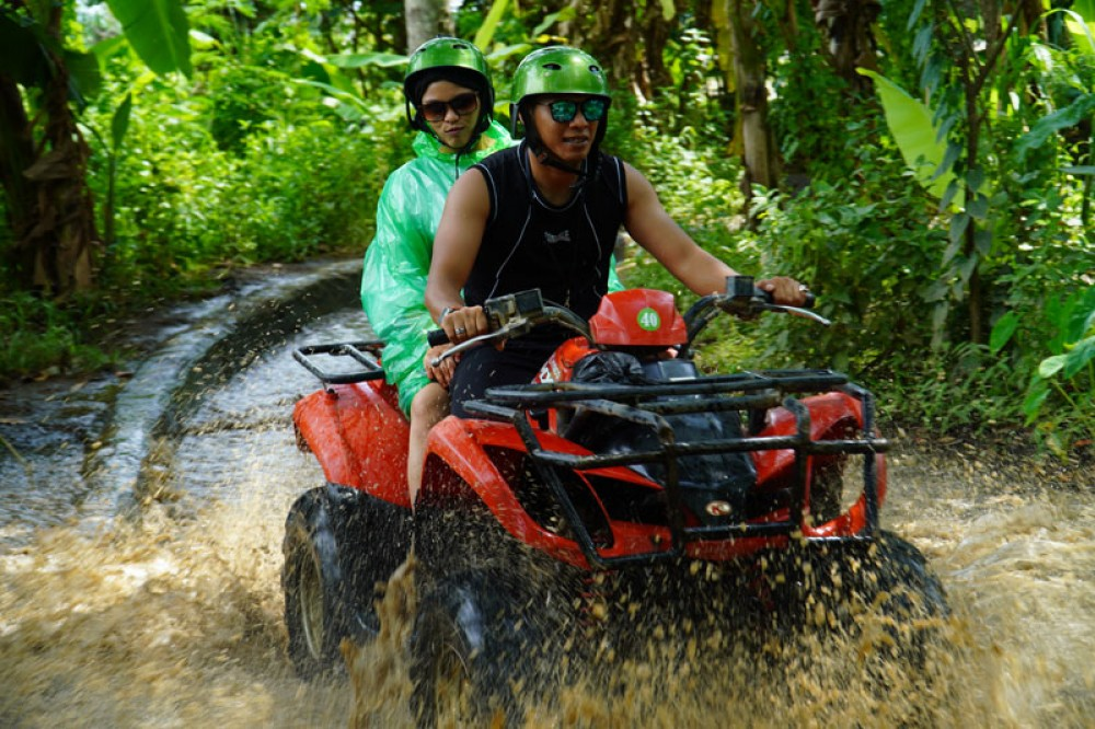 Join in Bali ATV Ride Adventure Tour after Visiting Tanah Lot