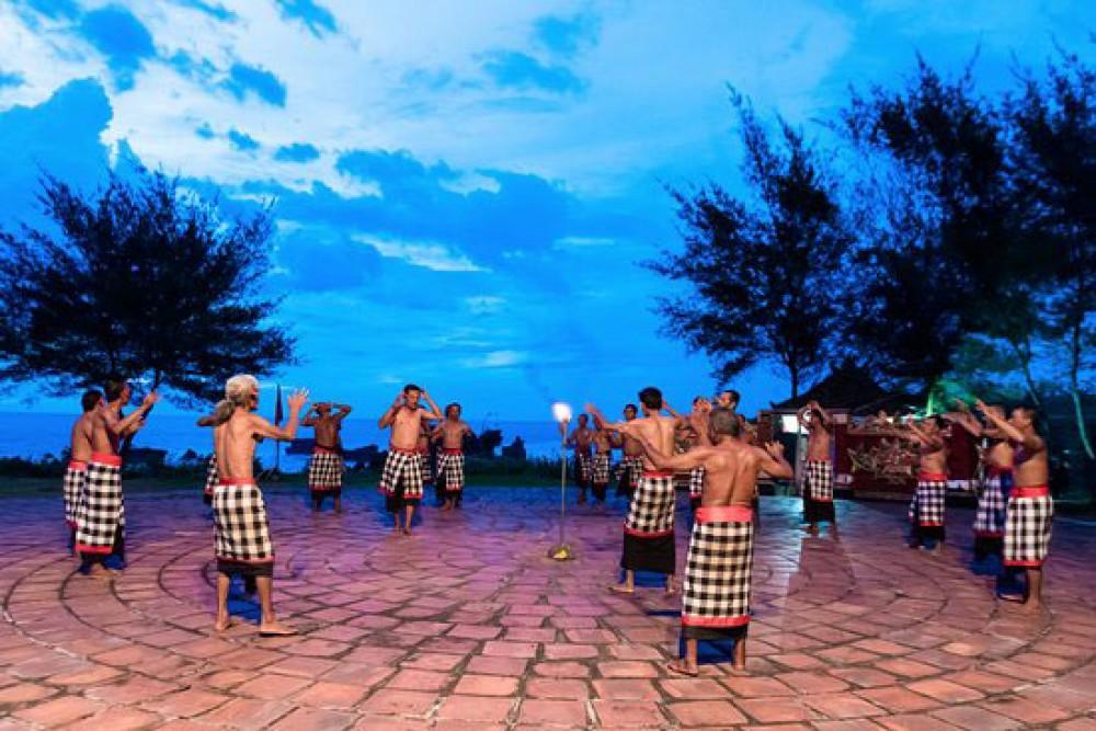 Kecak Dance in Tanah Lot