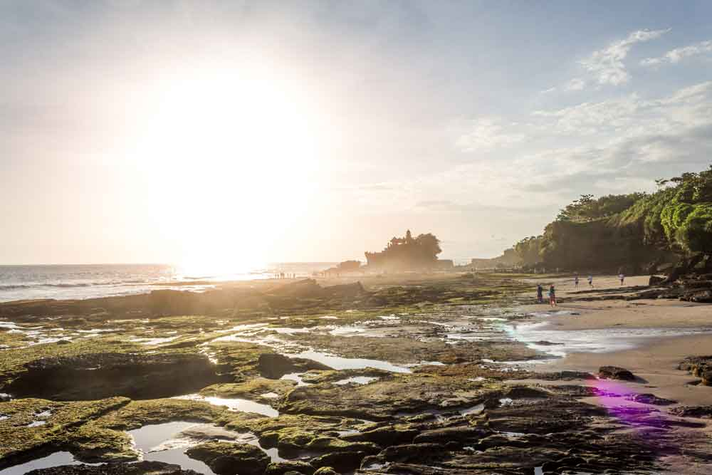 Late Afternoon at Tanah Lot Temple