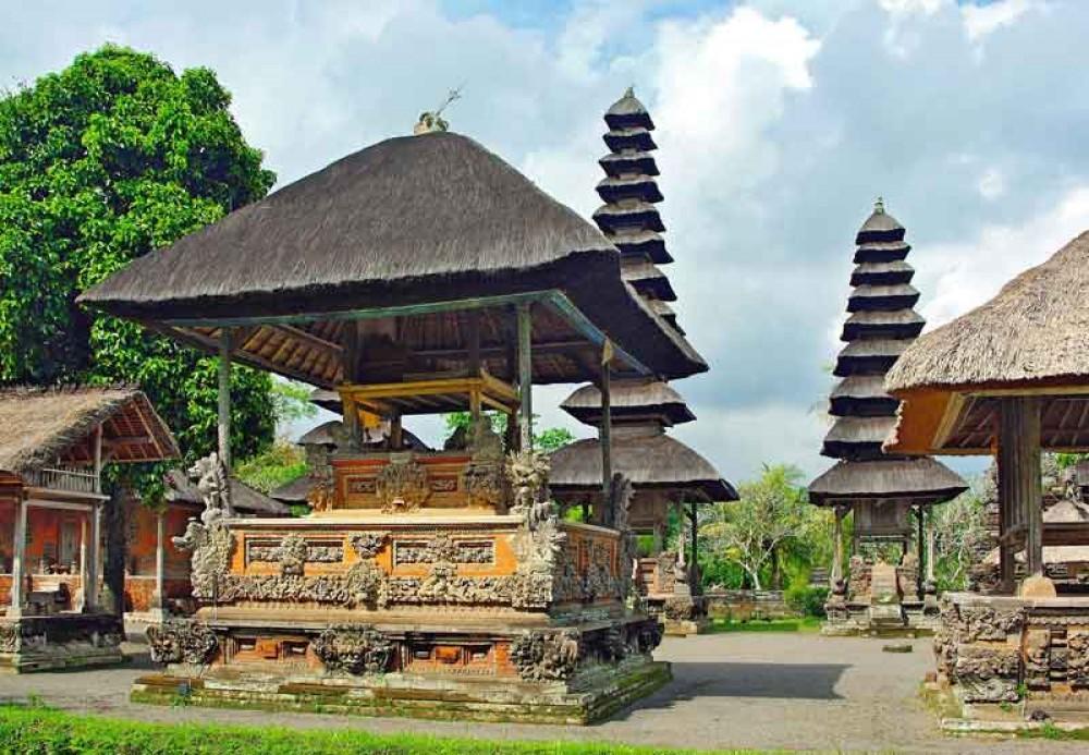 Main Yard of Taman Ayun