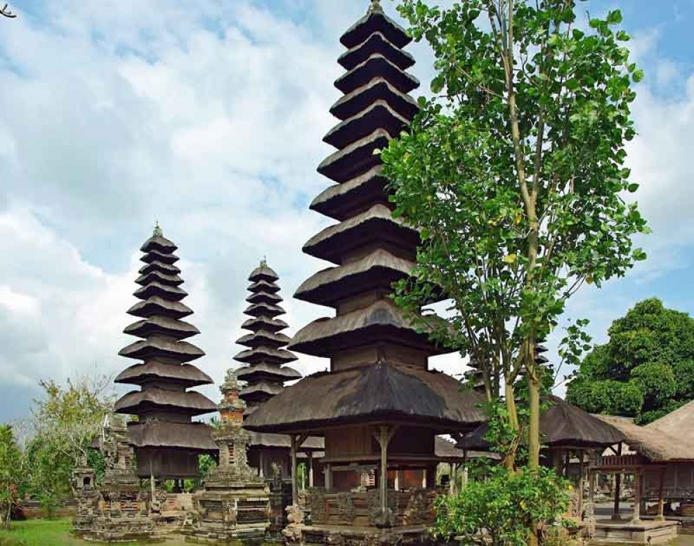 Shrines with 11 Levels Roof at Taman Ayun