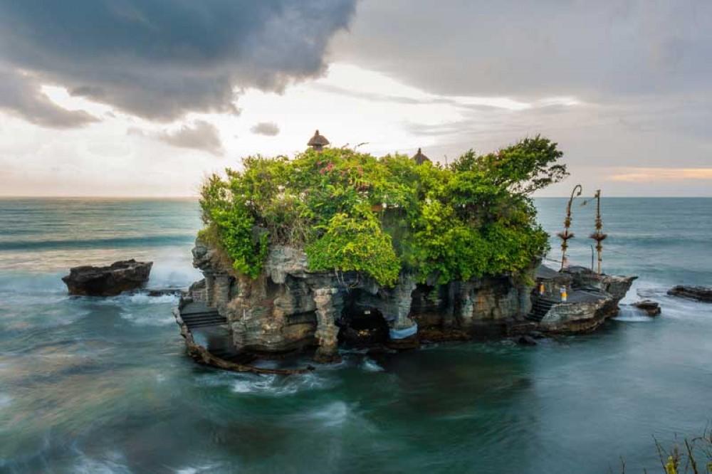 Tanah Lot Sea Rock Temple