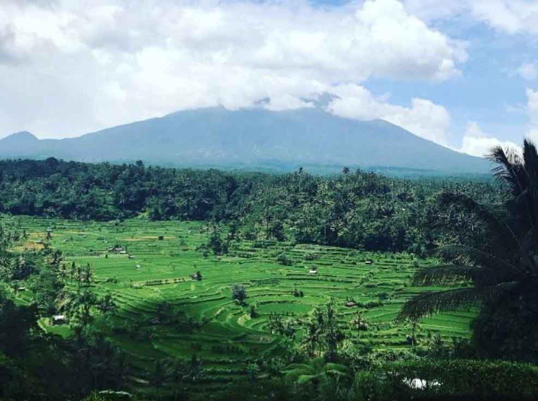 Sensasi Makan Siang Menghadap Gunung Agung di Mahagiri Restaurant