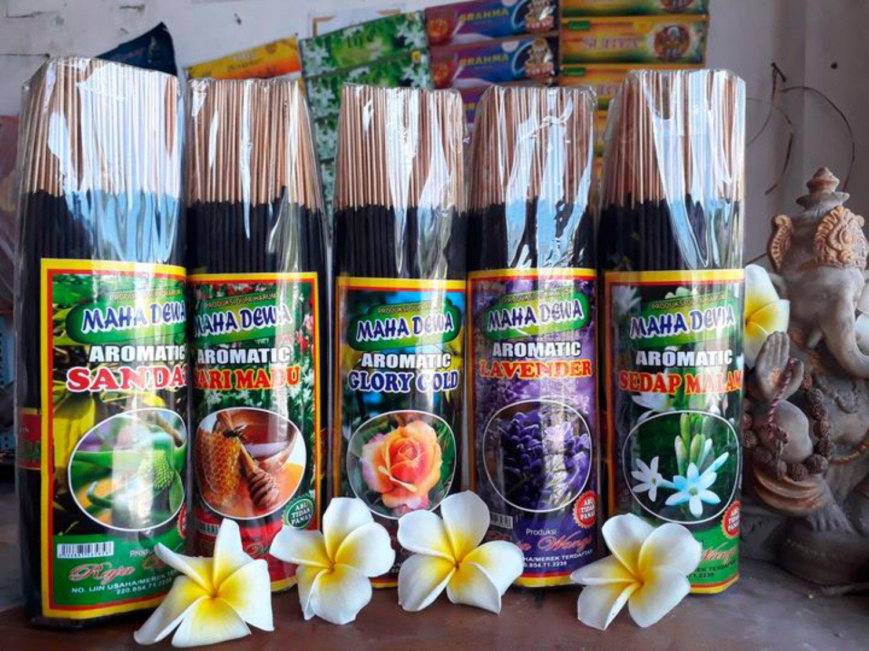 Pabrik Dupa Mahadewa Bali – 19 Varian Aroma Dupa Terbaik