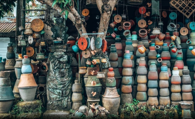 Serayu Pot & Terracota Spot Foto Instagramable di Ubud