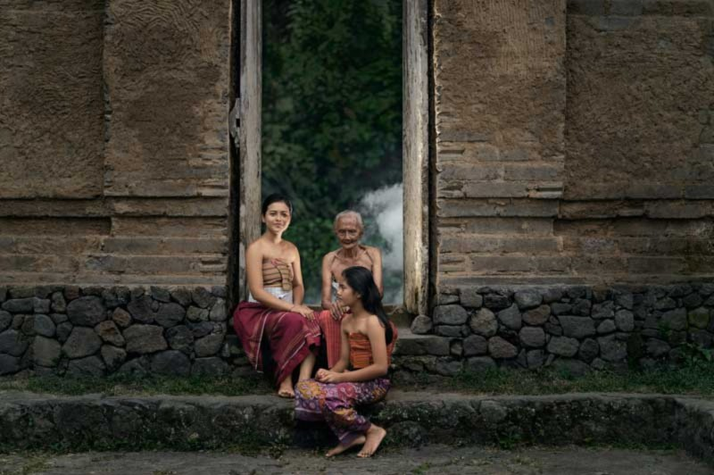 Angkul Angkul Di Desa Tenganan Bali