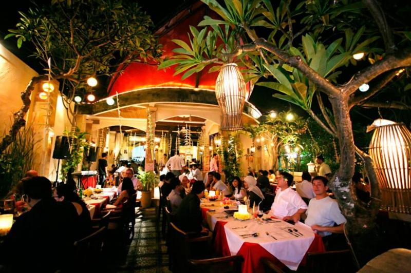 Bali Cardamon Restaurant Benoa Bali