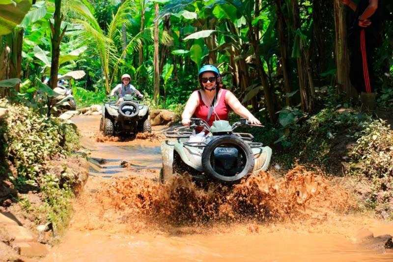 Bermain ATV di Ubud Balaji Adventure