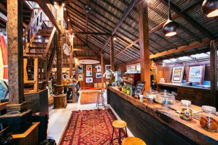 Cafe at Drifter Uluwatu