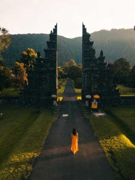 Gerbang Handara di Bali Utara