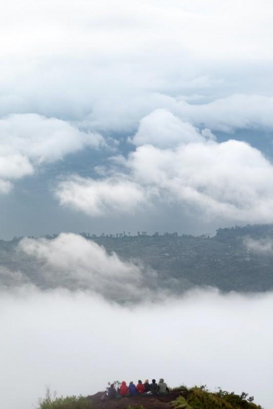 Jalur Mendaki Gunung Batur