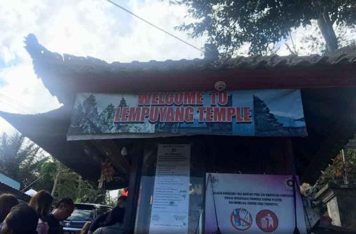 Jam Buka Wisata Pura Lempuyang