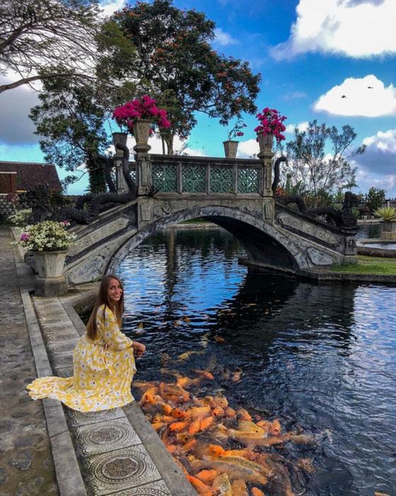 Keindahan Istana Air Tirta Gangga Bali