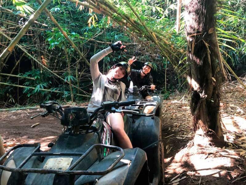 Keseruan ATV Bali Balaji
