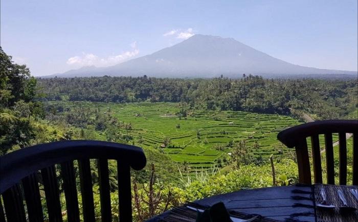 Mahagiri Panoramic Restaurant Rendang Karangasem