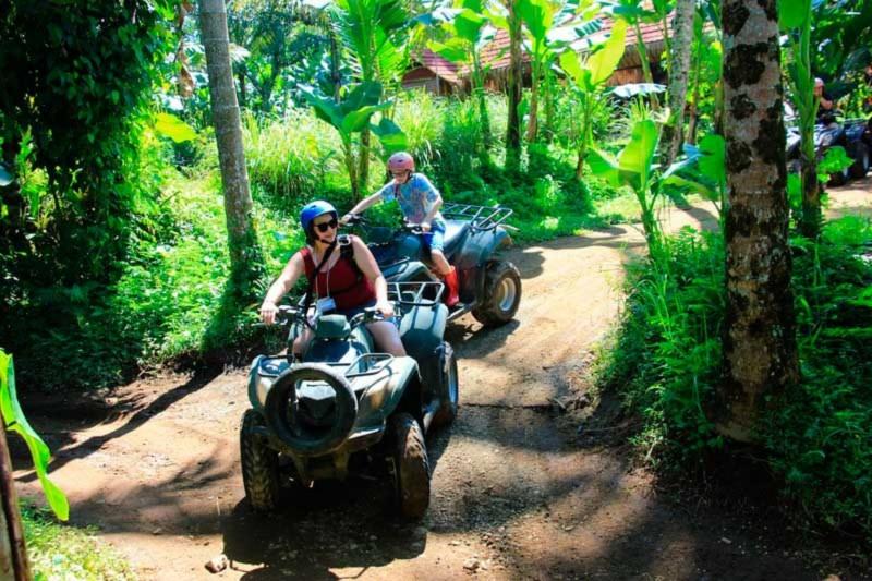 Main ATV Di Desa Payangan Ubud