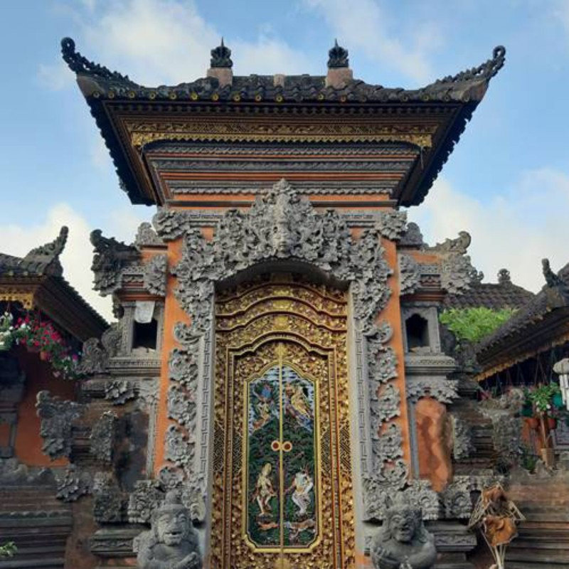Model Angkul Angkul Rumah Bali