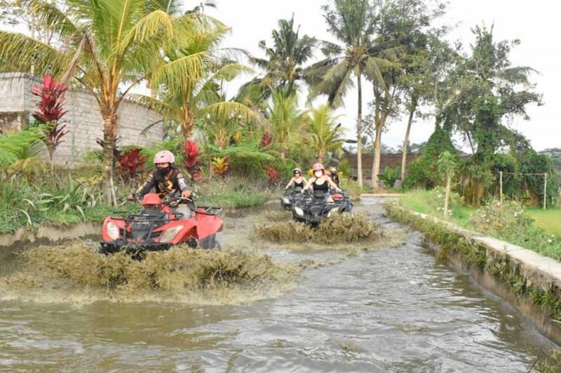 Naik ATV Di Ubud Bali