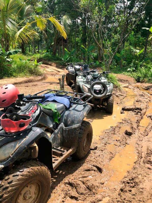 Naik ATV di Balaji Adventure Ubud