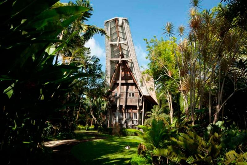 Owl House di Taman Burung Bali