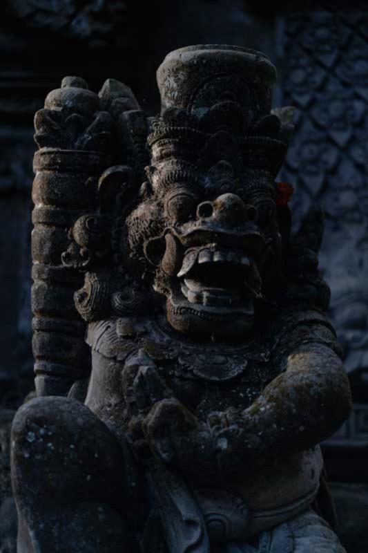 Patung Druapala di Angkul Angkul Bali