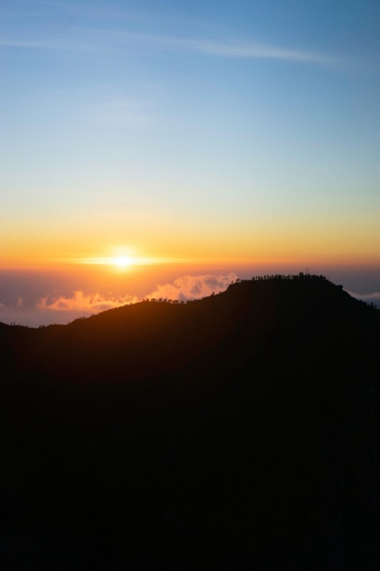 Persiapan Mendaki Gunung Batur