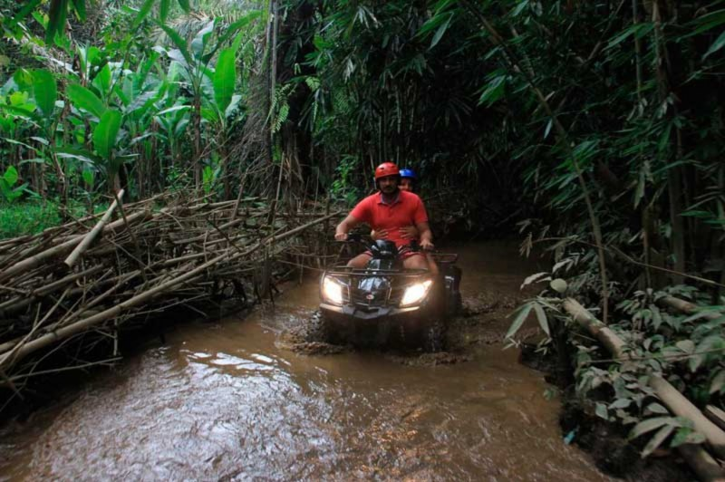 Petualangan ATV Tandem Ubud