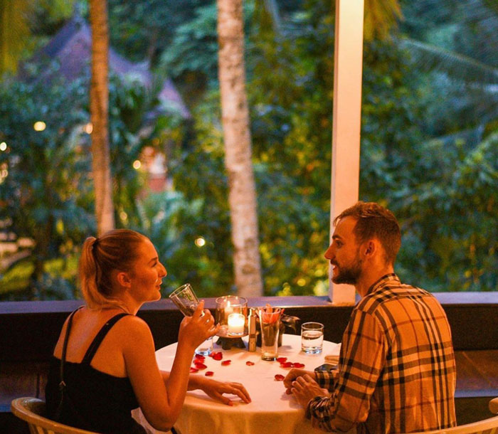 Restoran Romantis di Ubud