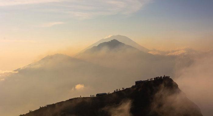 Rute Pendakian Di Gunung Batur Bali