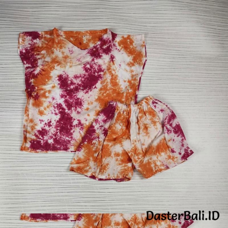 Setelan Anak Tie Dye Bali