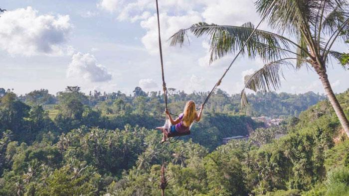 Tempat Swing Di Ubud