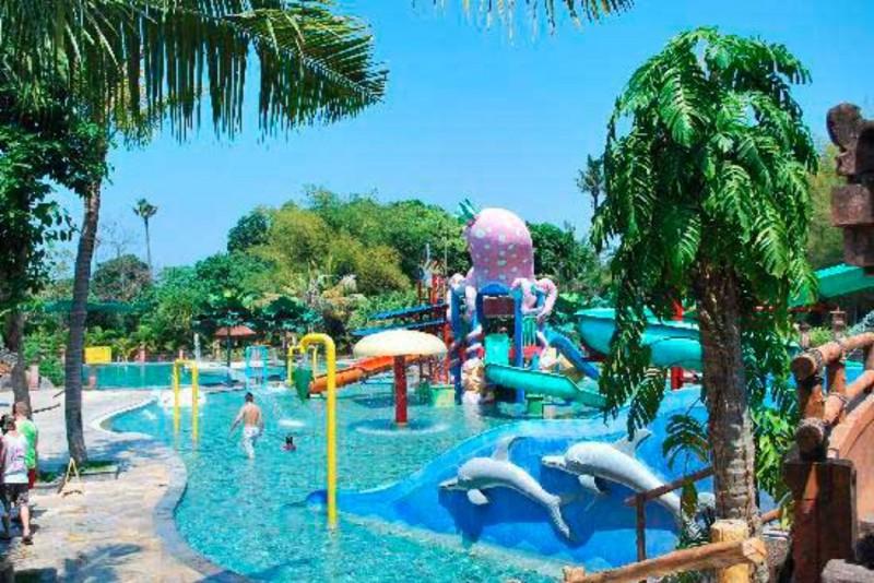 Waterpark and Fun Zone di Taman Safari Bali