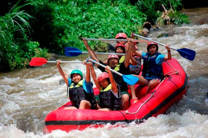 Wisata Arung Jeram Ubud Bali