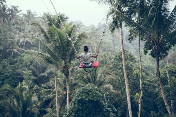 Wisata Bali Swing