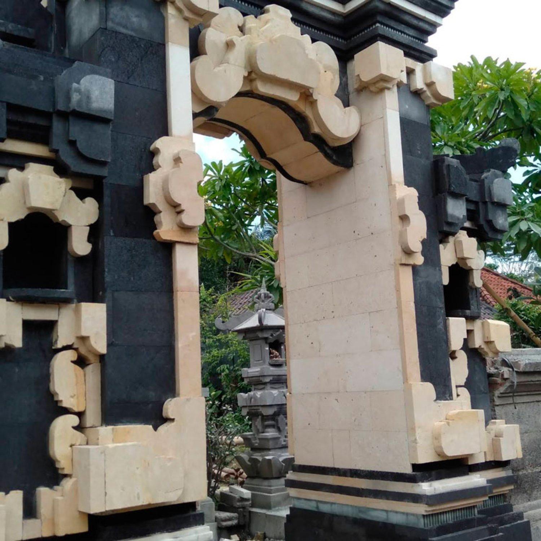 Jual Angkul Angkul Batu Alam Konsep Tradisional Stil Bali
