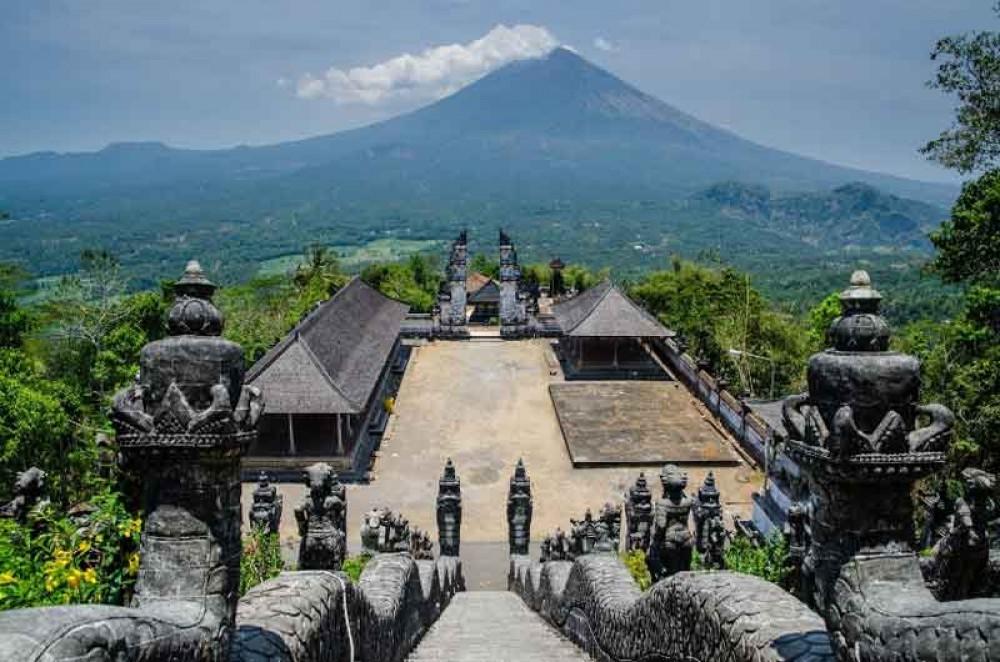 Lempuyang Temple Location from Ubud