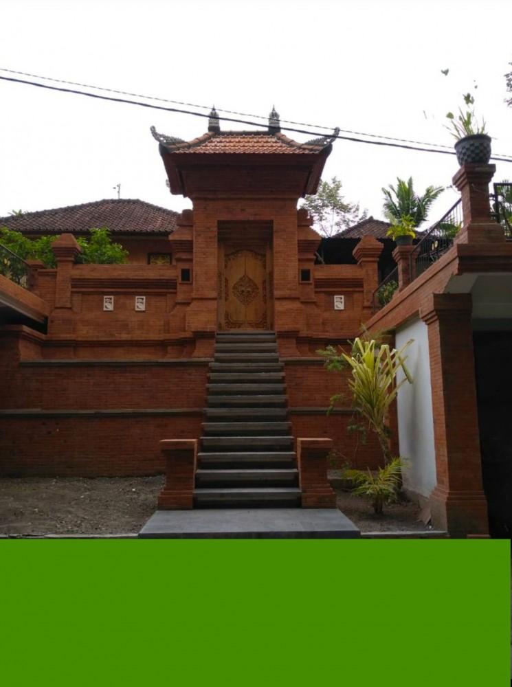 Model Angkul-angkul Batu Bata Di Bali