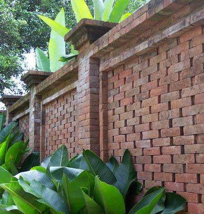 Pagar Batu Bata Rumah Bali