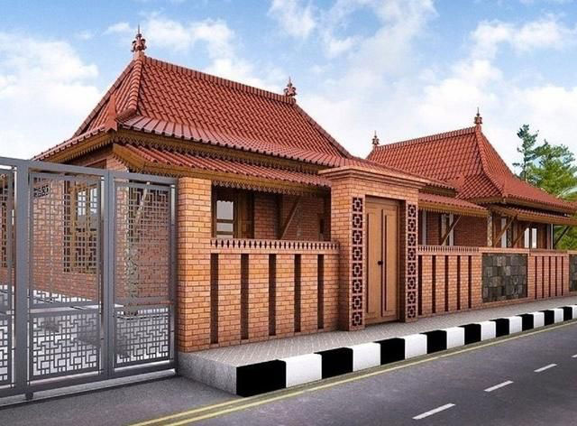 Pagar Rumah Batu Bata Minimalis Bali