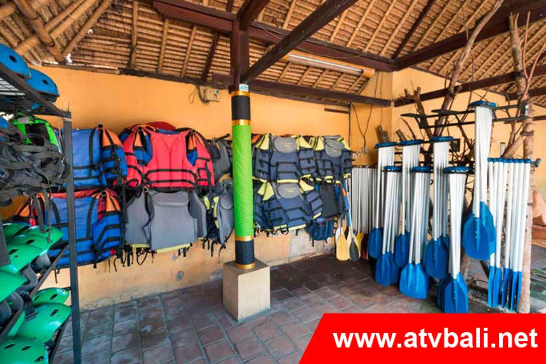Rafting area Bali