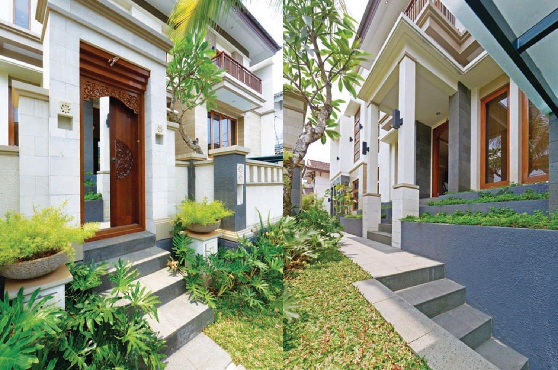 5 Inspirasi Angkul Angkul Bali Minimalis Terkini