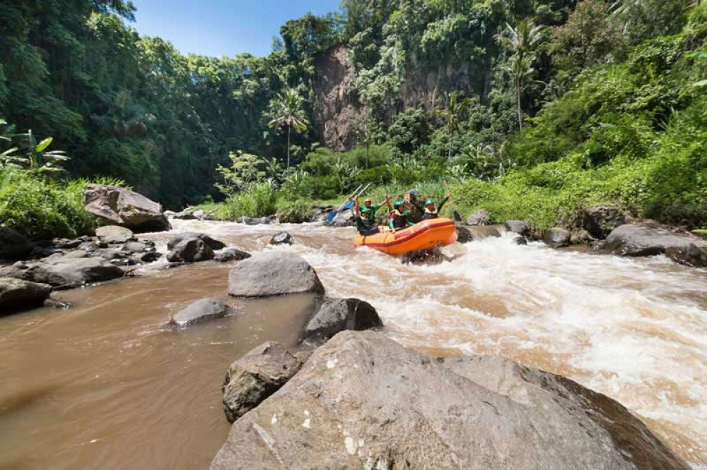Ayung River Rafting Adventure