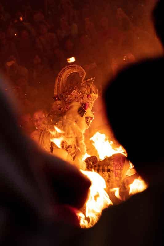 Balinese Kecak and Fire Dance at Uluwatu Stage