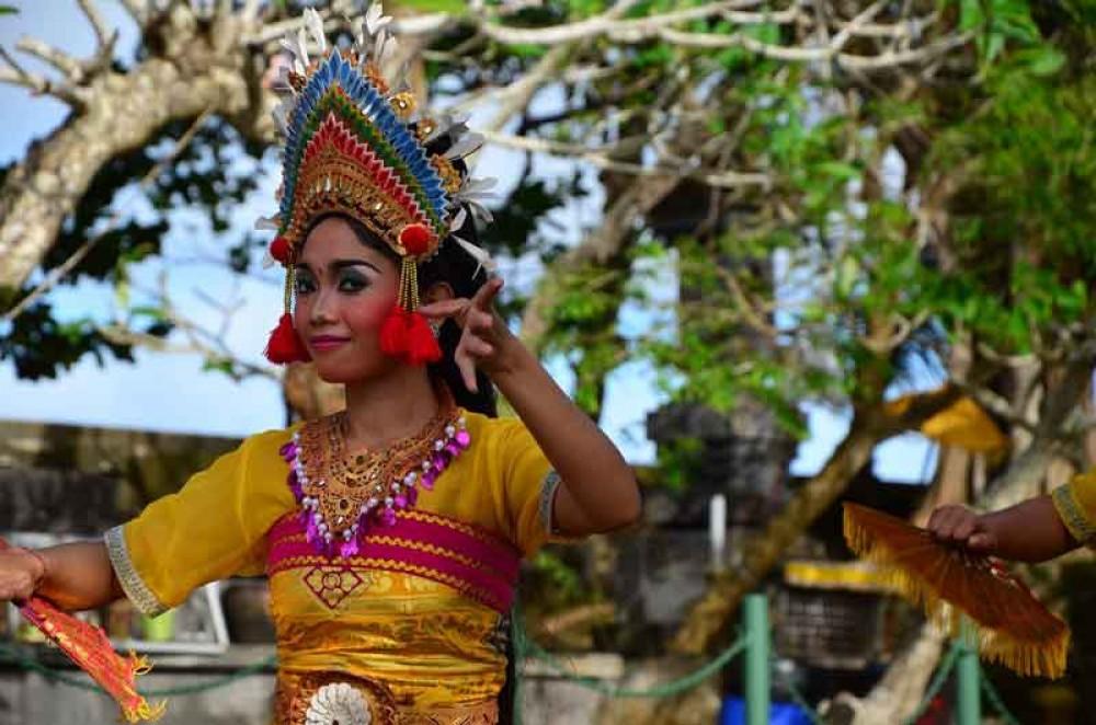 Balinese Woman Dancer